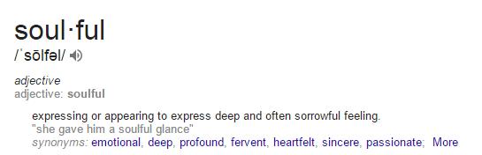 define-soulful