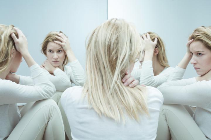 woman in a psychiatric ward