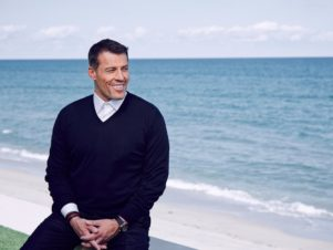 tony-robbins-is-an-author-and-motivational-speaker-and-father-of-four