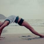 yoga, wheel pose