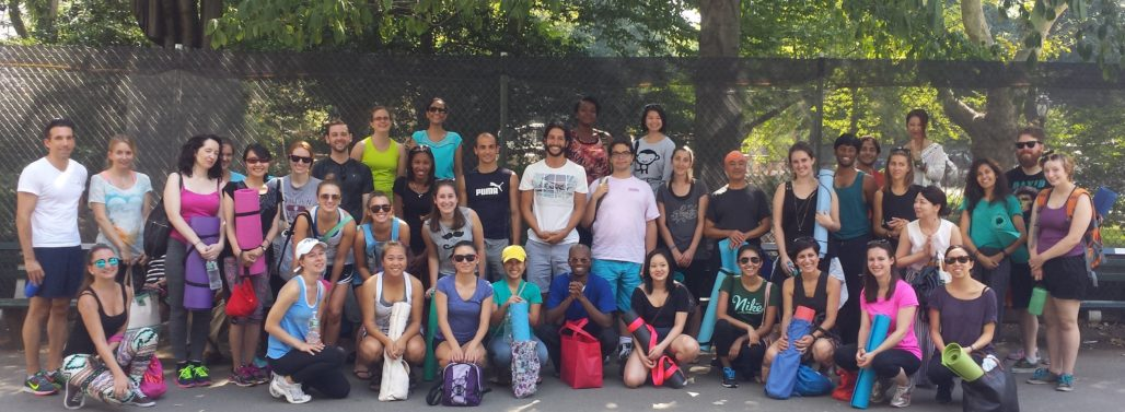 Central Park Class NYC with Yoga Teacher Umit Sedgi